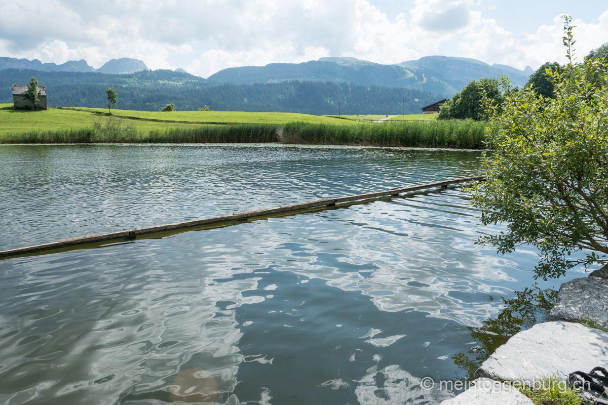 Badi Schönenbodensee Wildhaus Toggenburg Bergsee