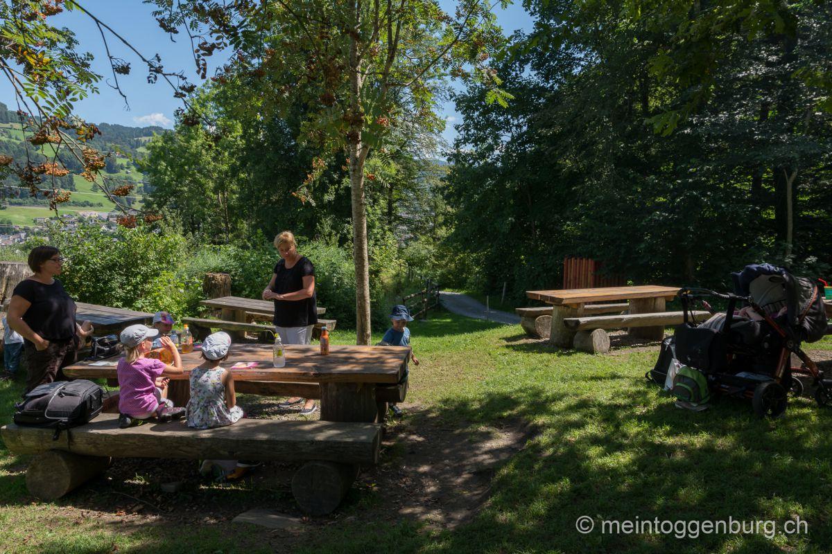 Feuerstelle Eichweiher in Ebnat Kappel im Toggenburg