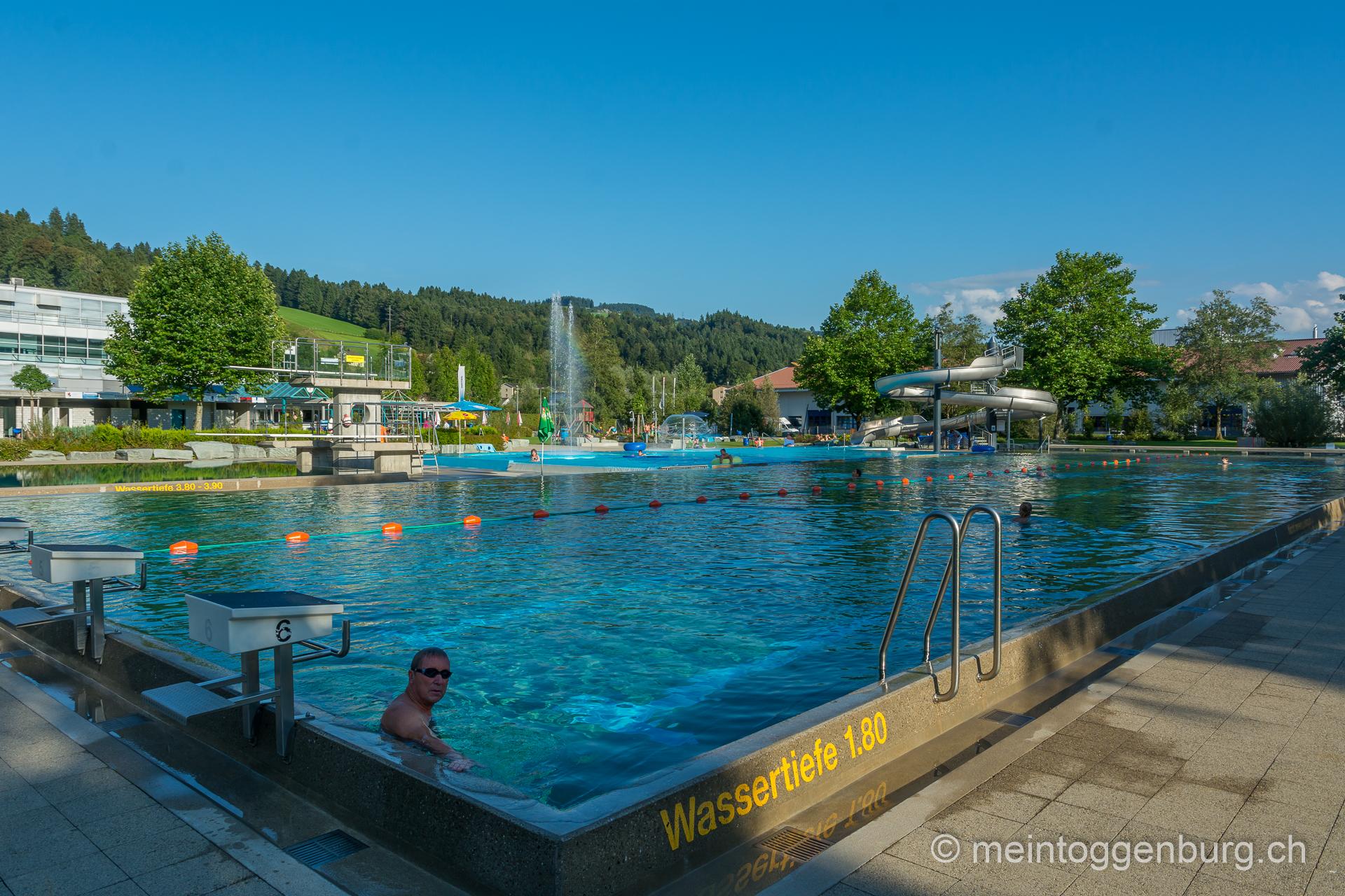 Badi Wattwil / Freibad Wattwil
