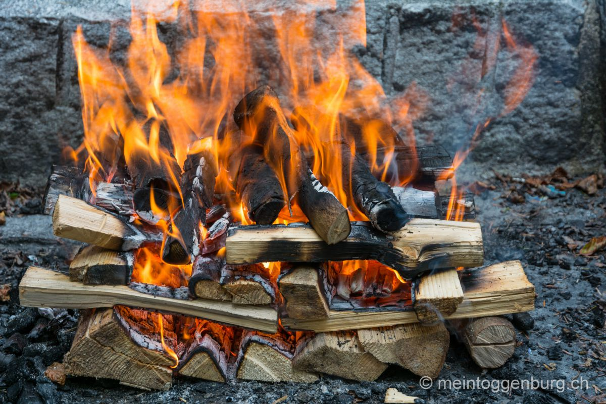 Grillen im Toggenburg - alle Feuerstellen