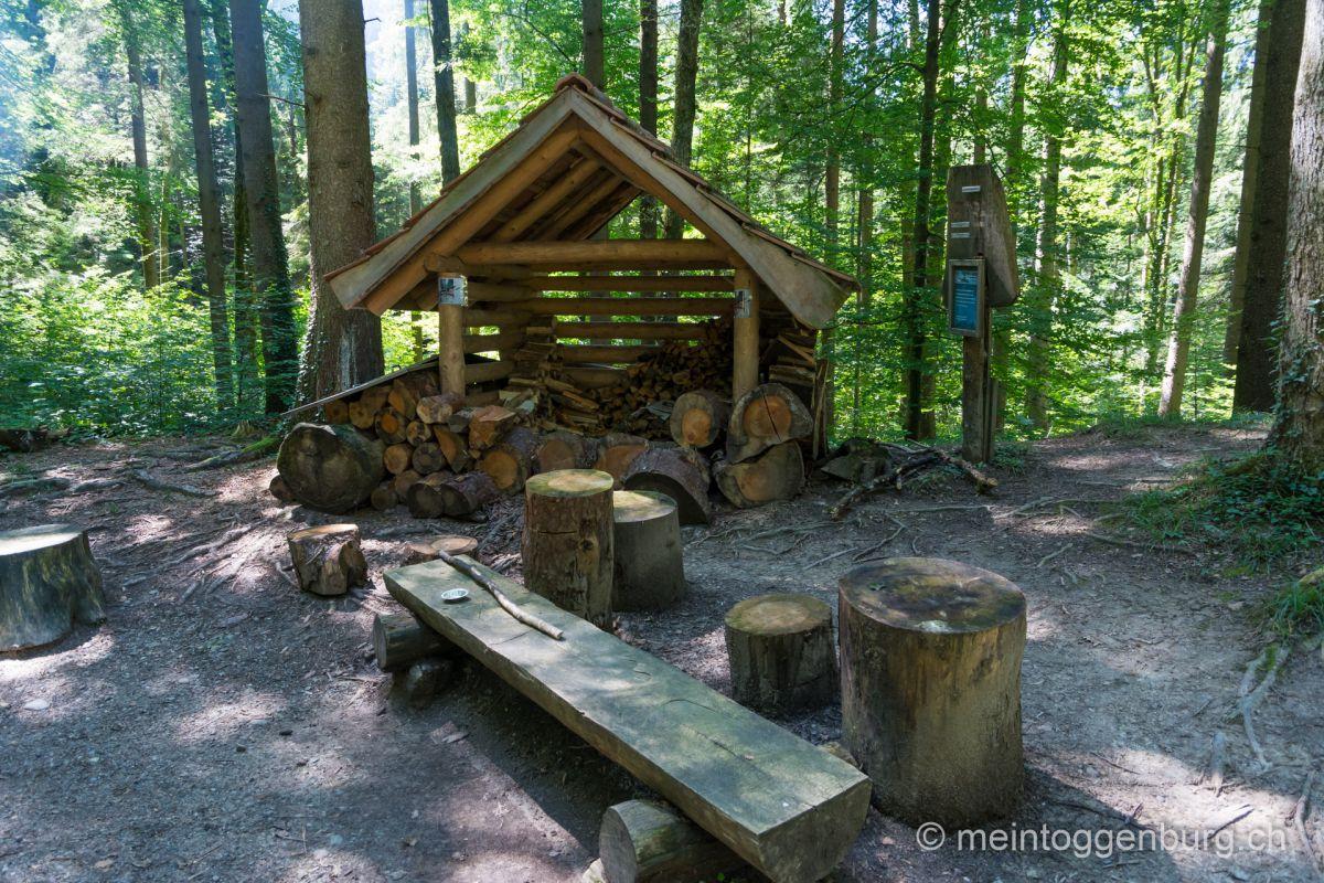 Feuerstelle Altbach Kirchberg Toggenburg
