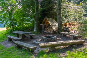 Grillplatz Feuerstelle Bodenwald Mosnang