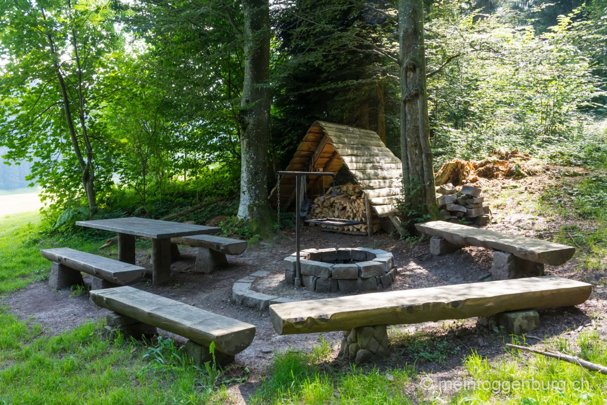 Feuerstelle Bodenwald Mosnang Toggenburg