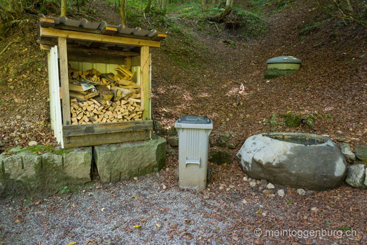 Grillplatz Feuerstelle Toggenburg Bohlwald Lichtensteig