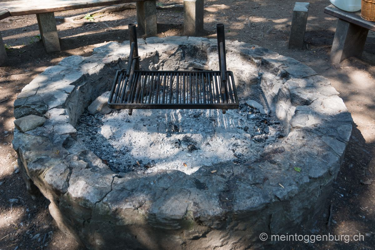Grillplatz Feuerstelle Toggenburg Inseli Johanneum Neu St. Johann