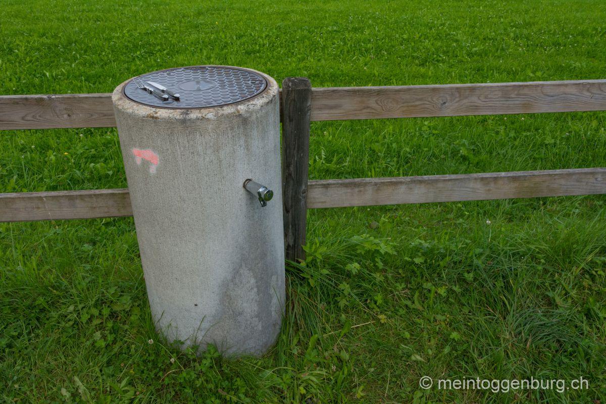 Feuerstelle Kreuz Oberhelfenschwil Toggenburg