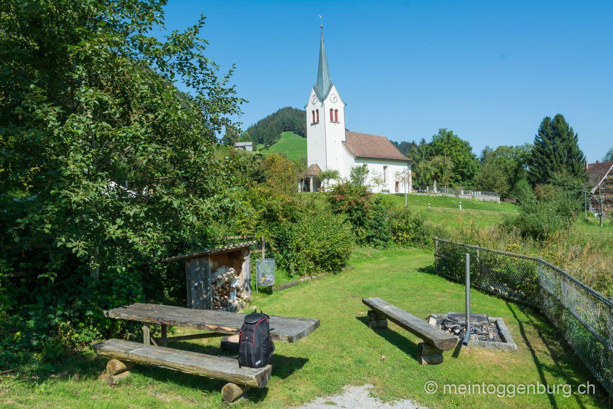 Grillplatz Feuerstelle Krinau Toggenburg