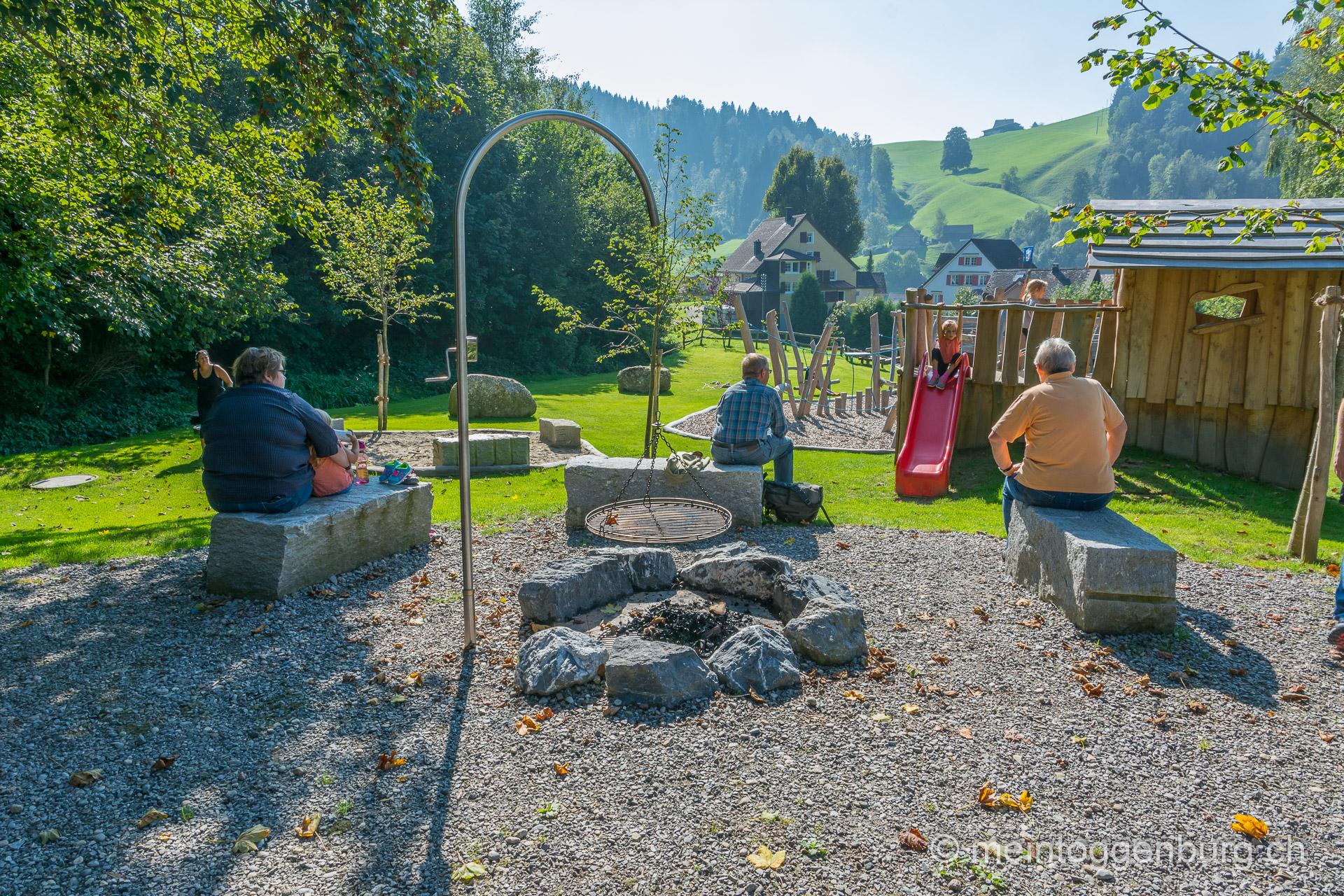 Grillplatz Schule St. Peterzell