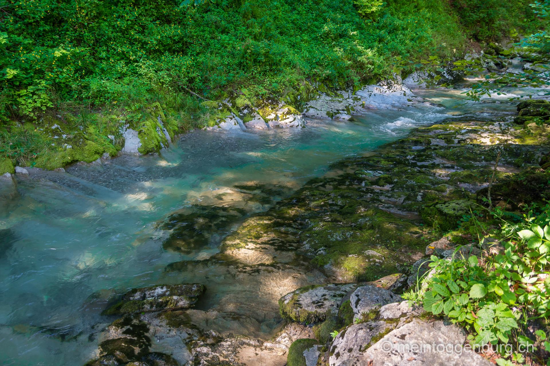 Thurwasser Fälle Unterwasser Toggenburg