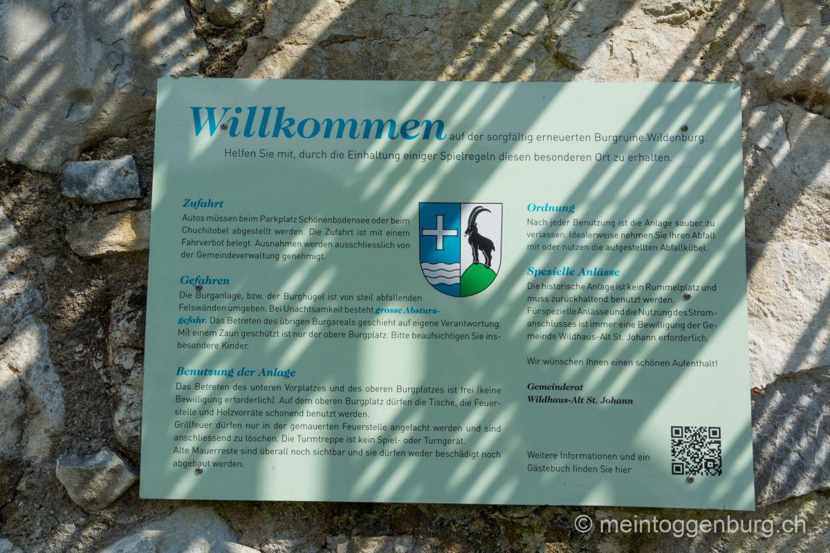 Feuerstelle Wildenburg Wildhaus Toggenburg