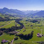 Luftaufnahme Krummenau