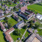 Luftaufnahme Neu St. Johann Johanneum