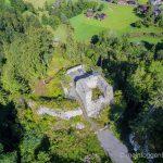 Luftaufnahme Wildhaus Alt St. Johann Wildenburg Grillplatz Feuerstelle
