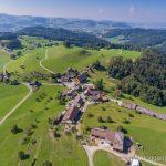 Luftaufnahme Winzenberg Lütisburg