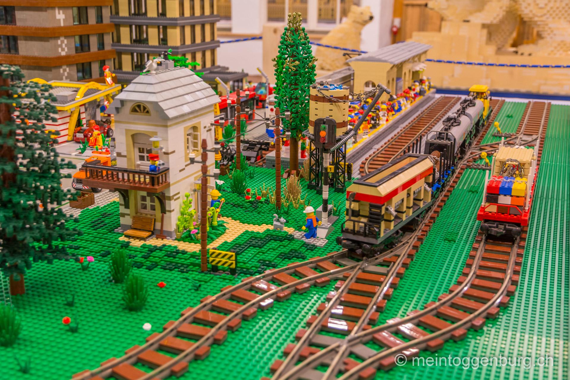 Erlebniswelt Toggenburg Sonderausstellung Lego