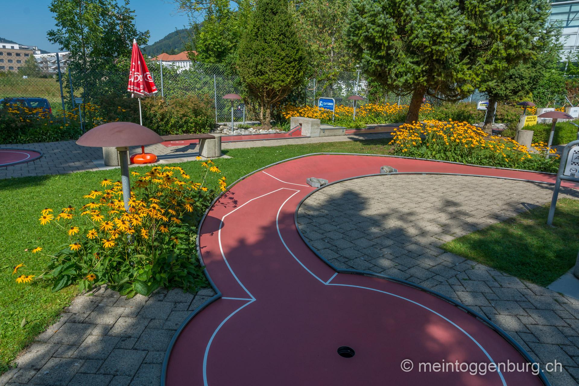 Minigolf in Wattwil