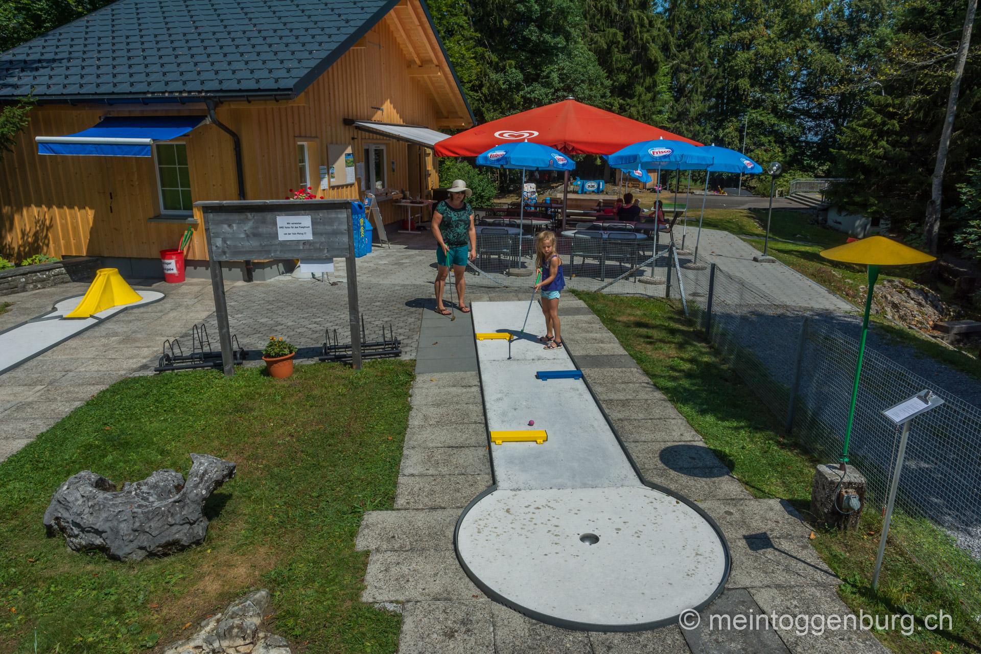 Minigolf in Wildhaus