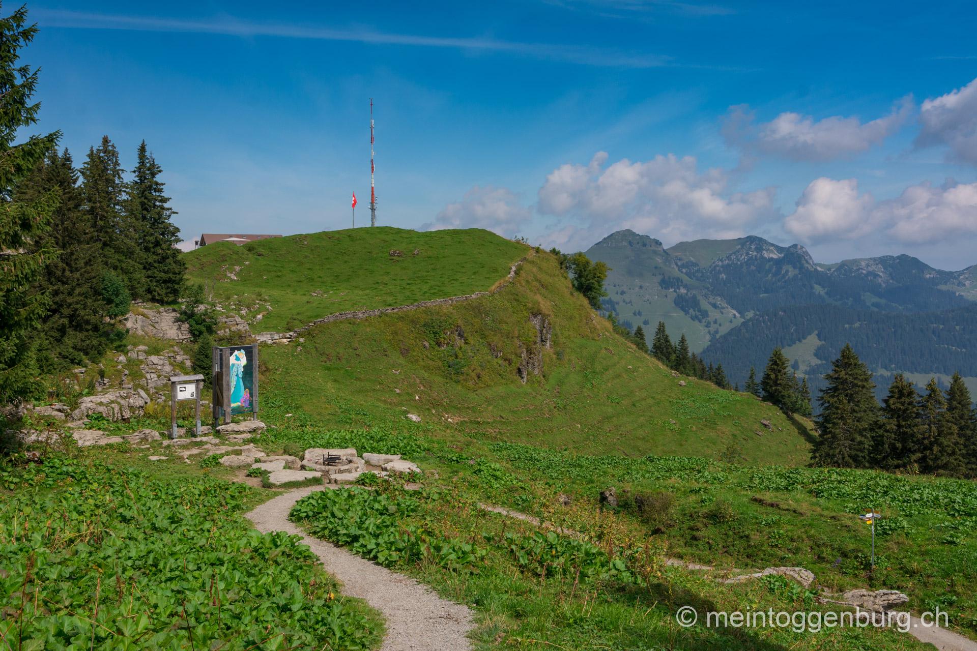 Toggenburger Sagenweg - Strichboden