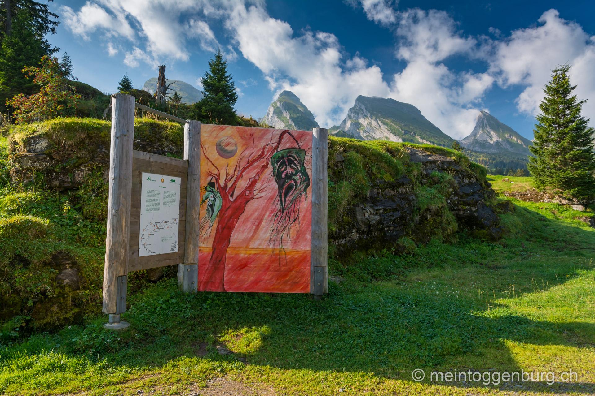 Toggenburger Sagenweg - Der Berggeist