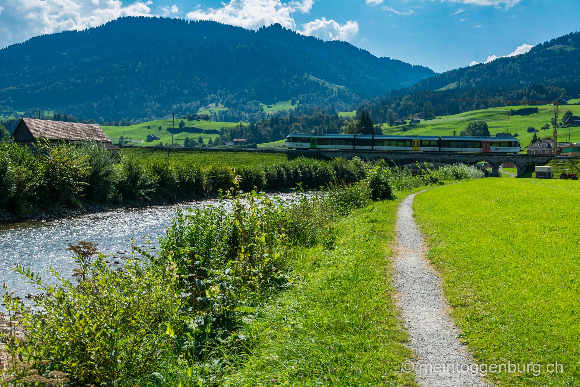 Thurweg von Stein nach Ebnat-Kappel