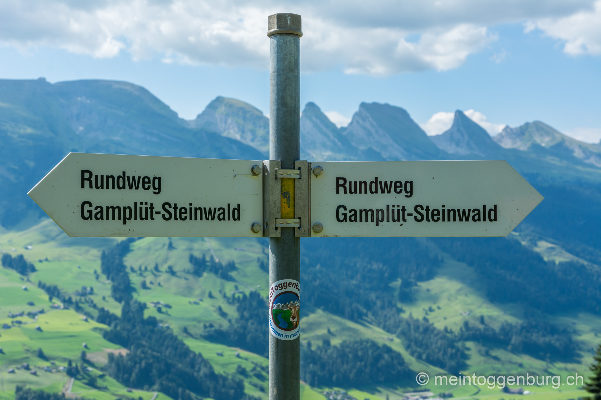 Panoramaweg Gamplüt - Steinwald