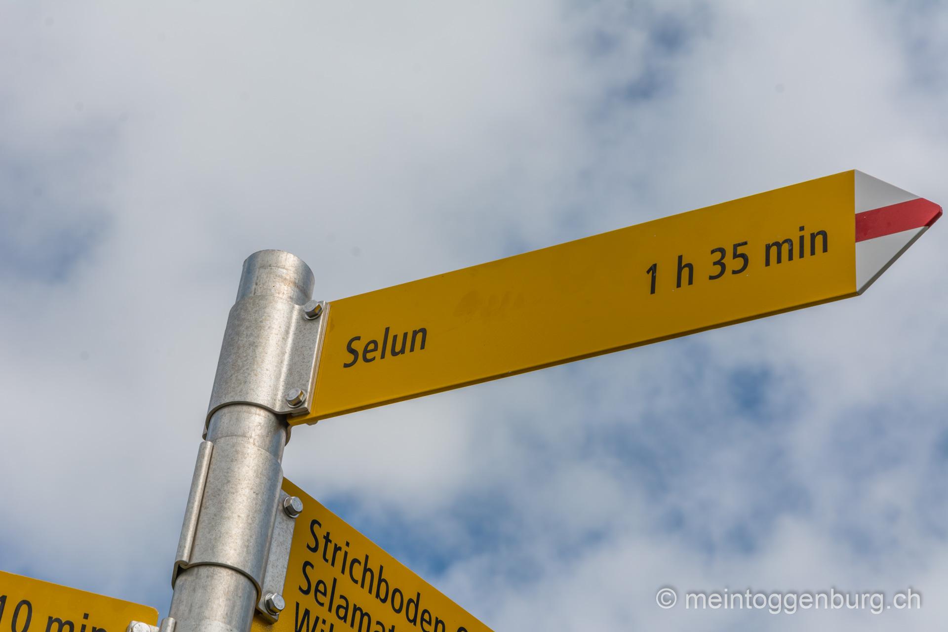 Wanderung auf den Selun