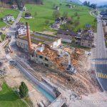Abriss der ehemaligen Schönenberger AG, Weberei in Dietfurt