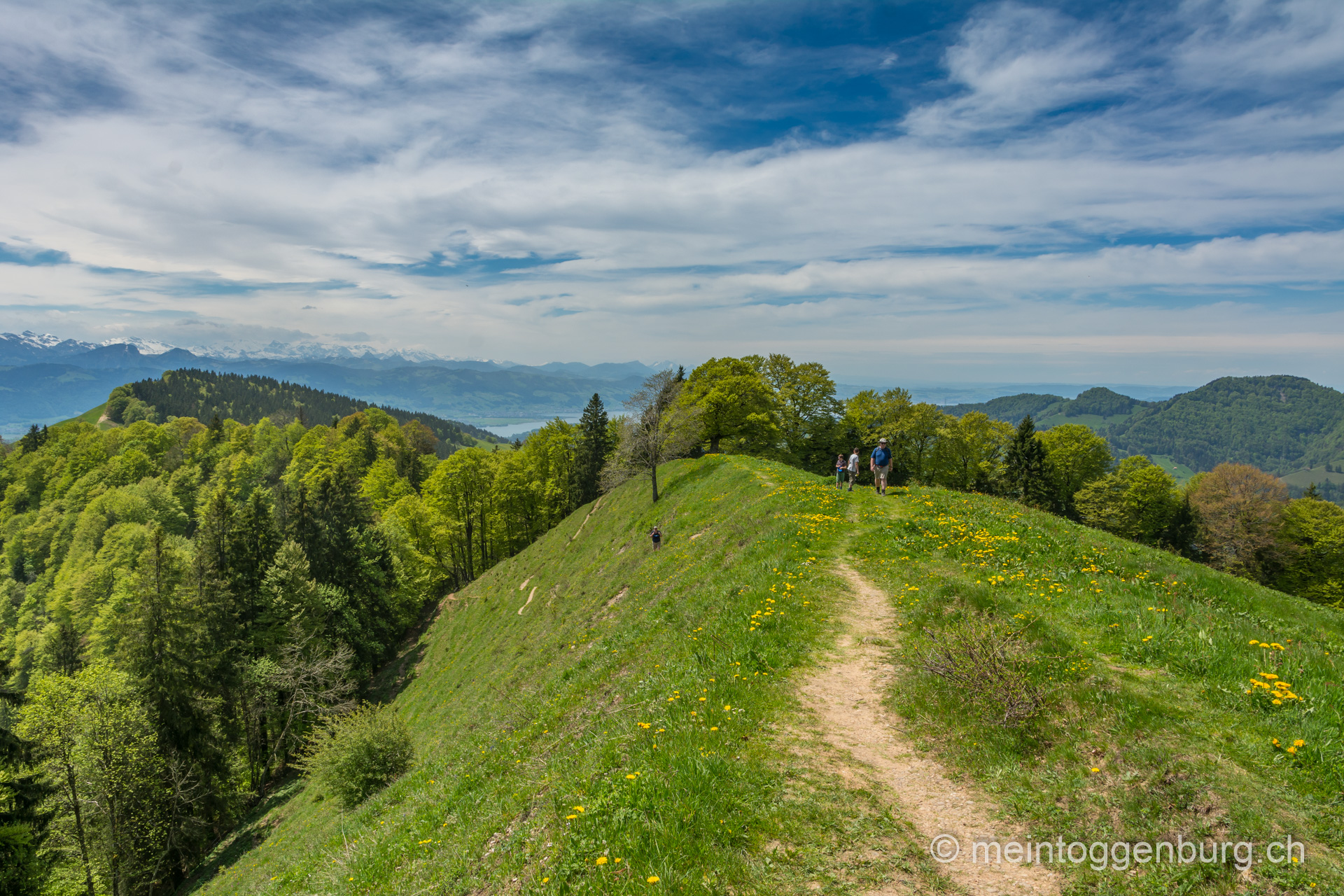 Wanderung Libingen - Chrüzegg - Atzmänig