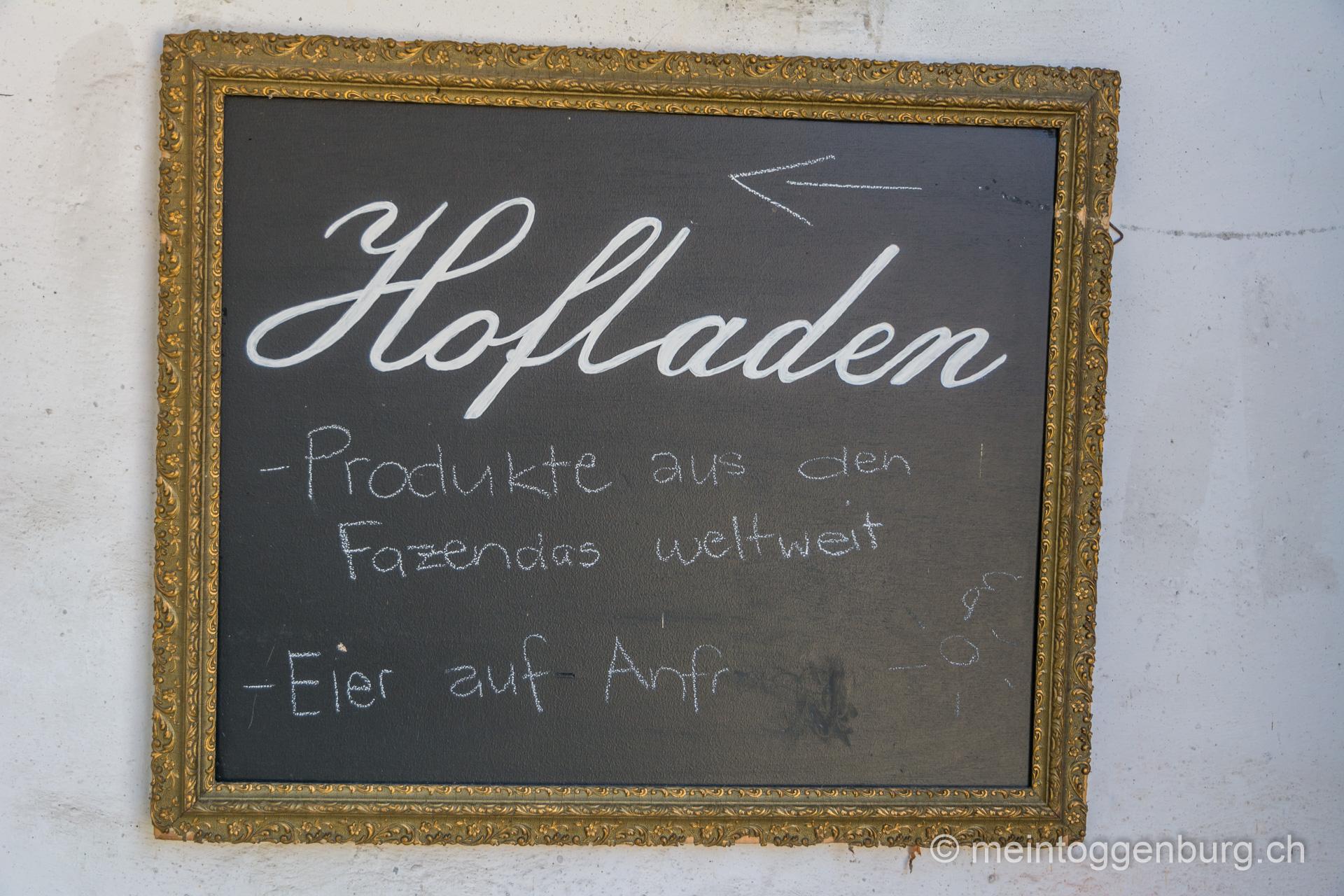 Hofladen Fazenda im Kloster Wattwil