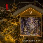 Winterstimmung im Adventskranz Mosnang
