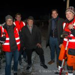 Die Zeugen und die Vermesser des Weltrekord-Adventskranzes