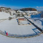 Weltrekord Adventskranz Mosnang per Drohne am 1. Dezember 2017