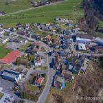 Luftaufnahme Lütisburg