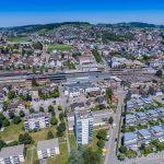 Luftaufnahme Stadt Wil