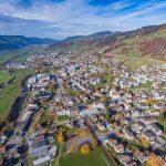 Luftaufnahme von Ebnat-Kappel