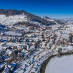 Brunnadern im Winter