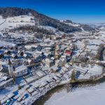 Brunnadern im Winter